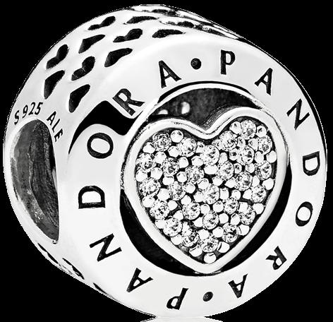 Pandora Signature Heart