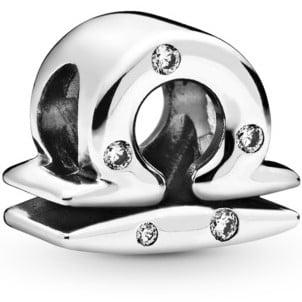 Sparkling Libra Zodiac Charm