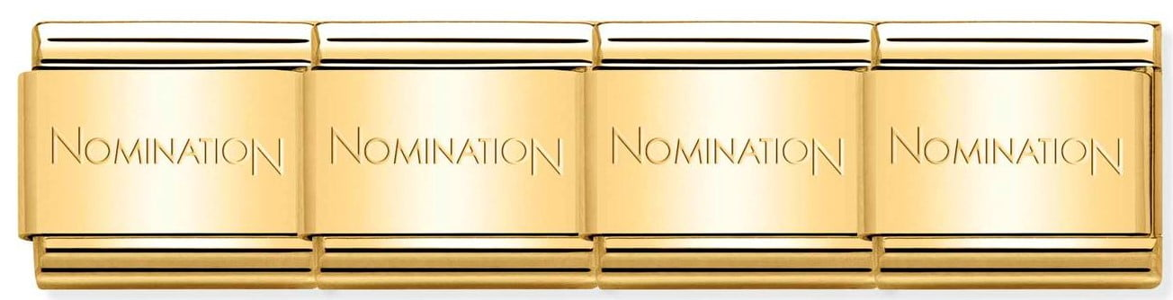 Nomination Gold Plated Stainless Steel Links (per link)