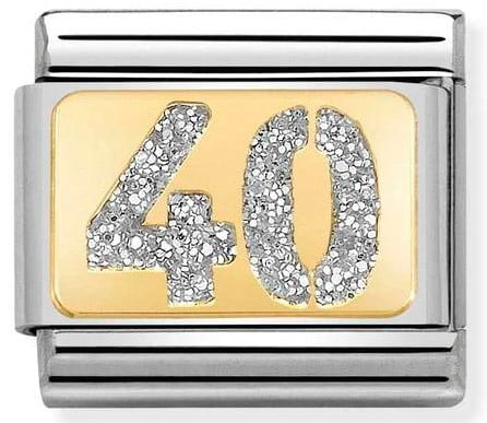40 with Glitter