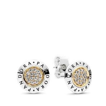 Pandora Logo Stud earrings