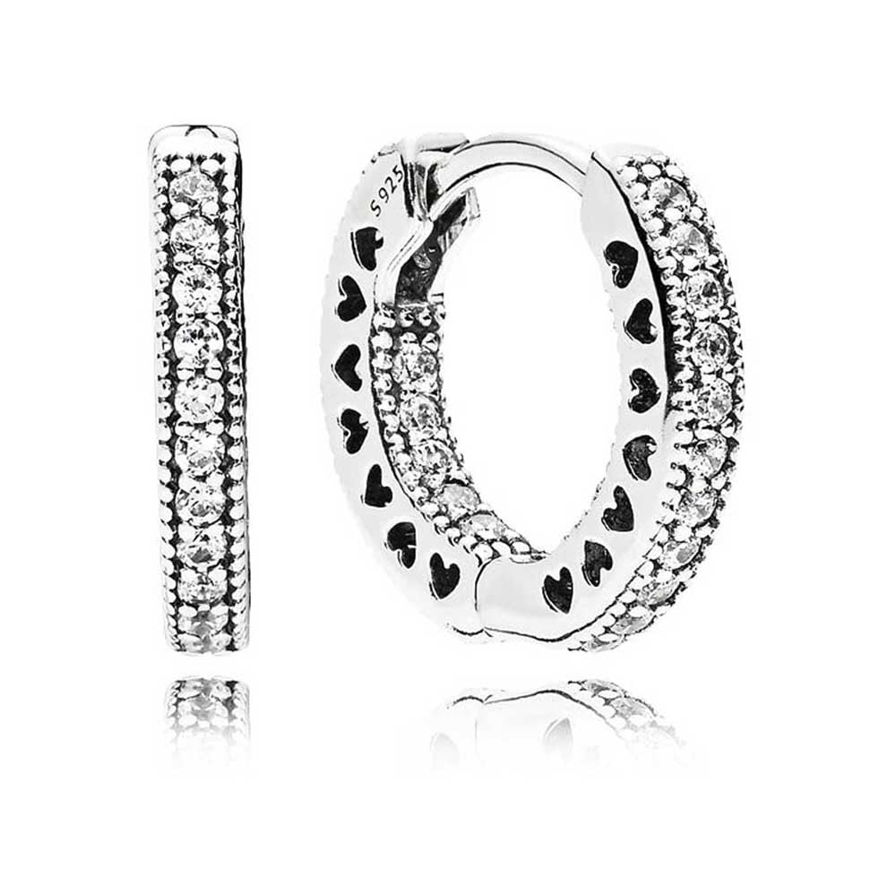 Hearts of Pandora Small Hoop earrings