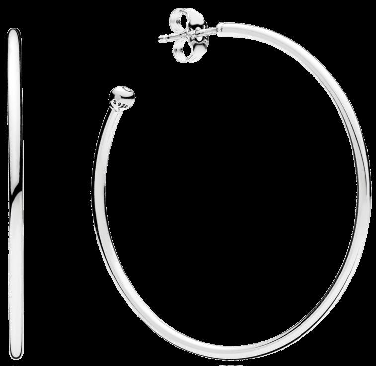 Hoops of Versatility Large Classic Hoop Earrings