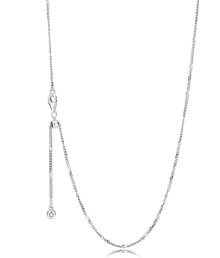 Sterling silver 70cm curb link chain