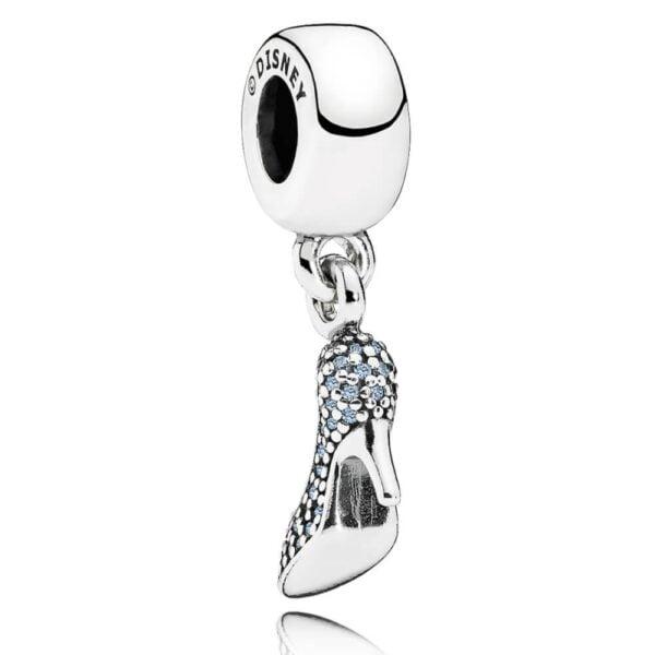 pandora disney cinderella sparkling slipper pendant charm 791470cfl p4800 9535 image